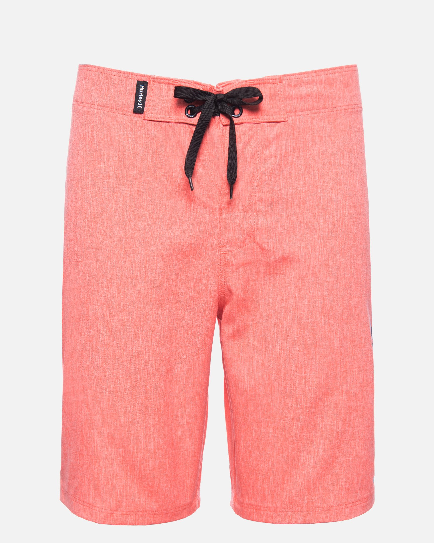 Boys' Heathered One & Only Boardshort in Bright Crimson, Size 18
