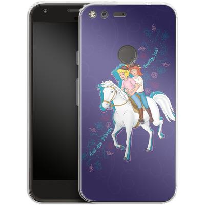 Google Pixel Silikon Handyhuelle - Bibi und Tina Pferd von Bibi & Tina