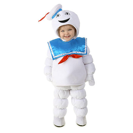 Ghostbusters Stay Puft Toddler Costume Boys Costume, 12-24 Months , White