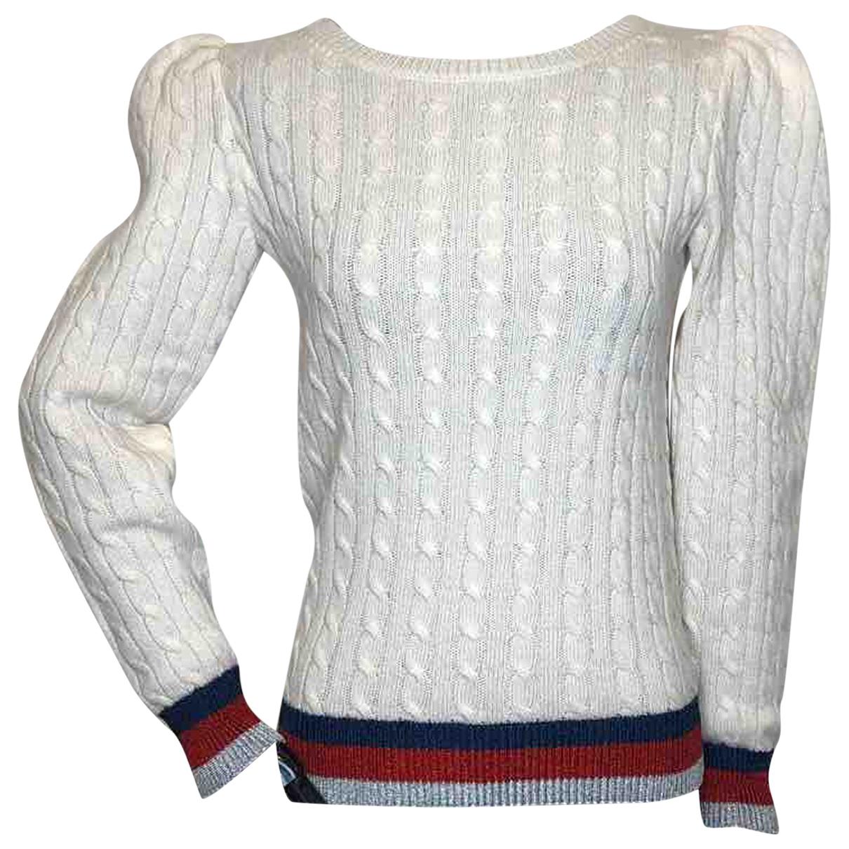 Gucci - Pull   pour femme en cachemire - blanc