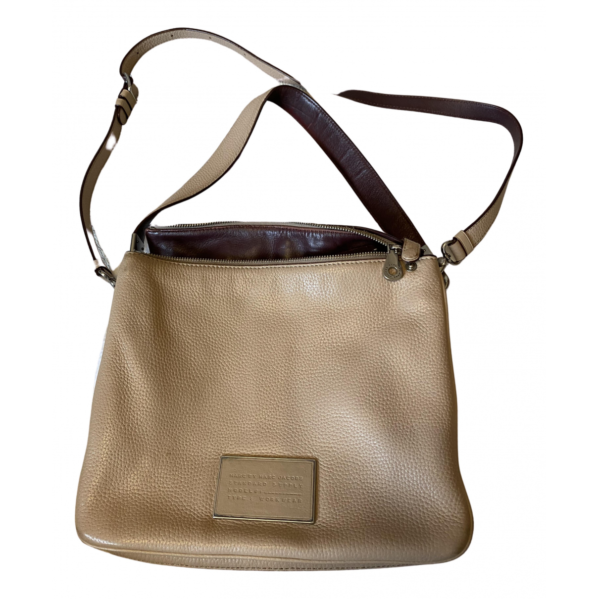 Marc By Marc Jacobs N Beige Leather handbag for Women N