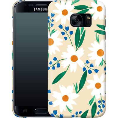 Samsung Galaxy S7 Smartphone Huelle - Daisy Chain von Iisa Monttinen