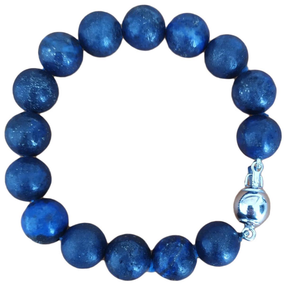 - Bracelet   pour femme en argent - bleu
