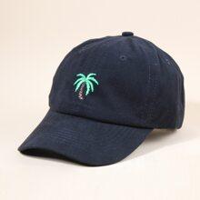 Maenner Baseball Hut mit Baum Stickereien