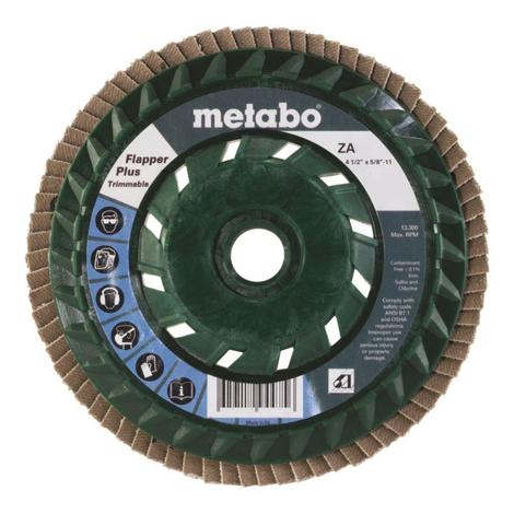 Metabo 4 1/2 In. Flapper Plus 60 5/8 In.-11 T29 Trimmable (Pb)