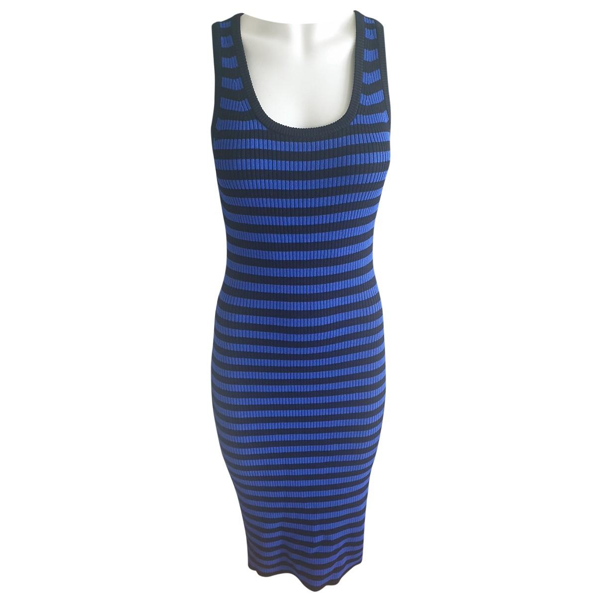 Michael Kors \N Kleid in  Blau Viskose