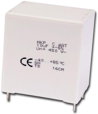 KEMET 33μF Polypropylene Capacitor PP 275 V ac, 450 V dc ±5% Tolerance Through Hole C4AT Series
