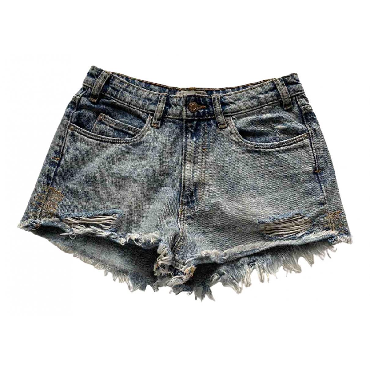Zara \N Shorts in Denim - Jeans
