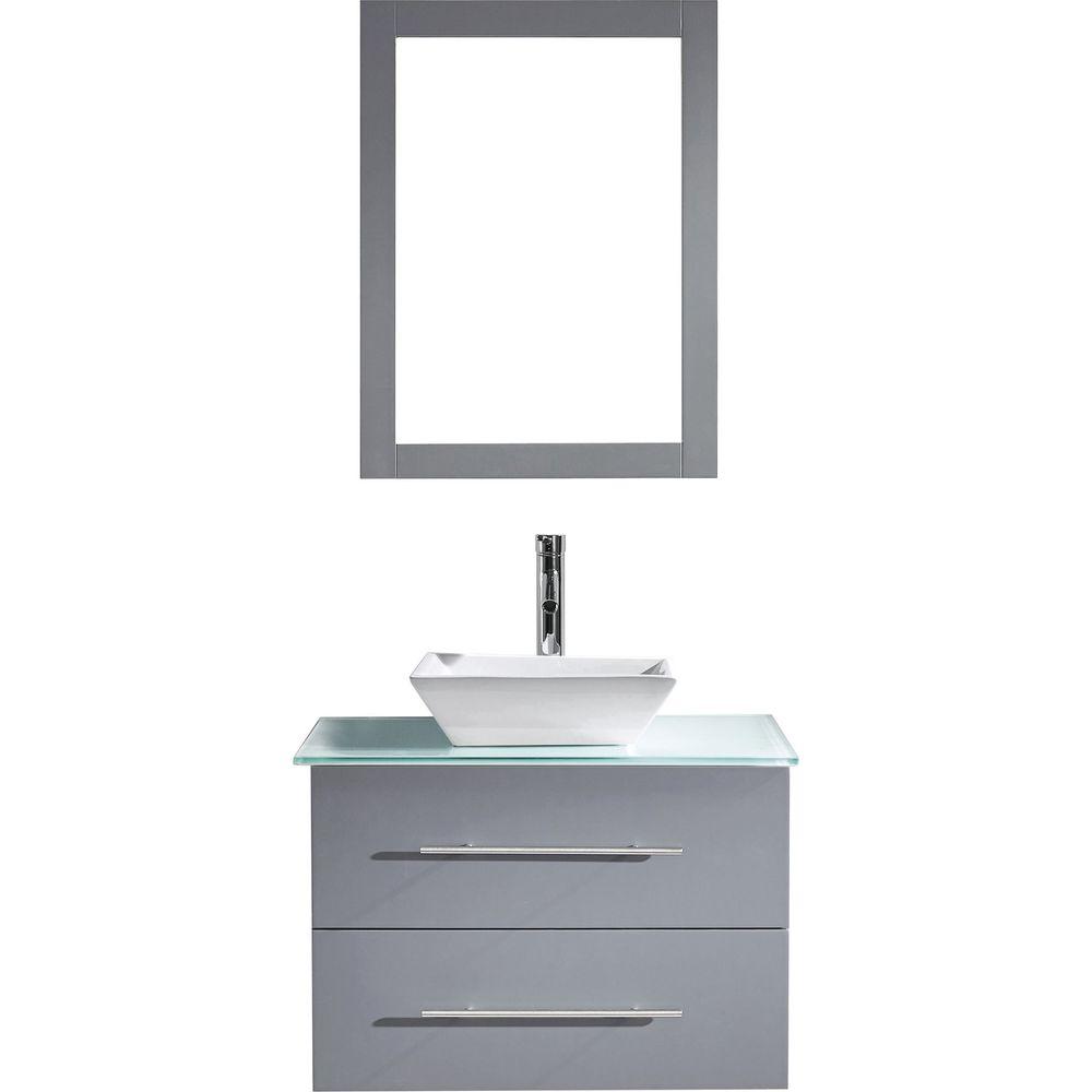 Virtu USA Marsala 29-inch Single Bathroom Vanity Set (29