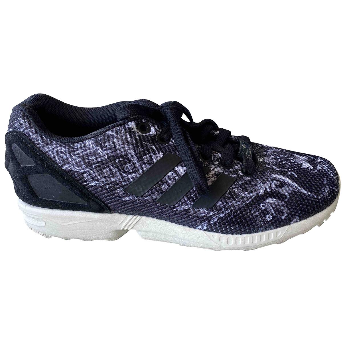 Adidas - Baskets ZX pour femme en toile - noir