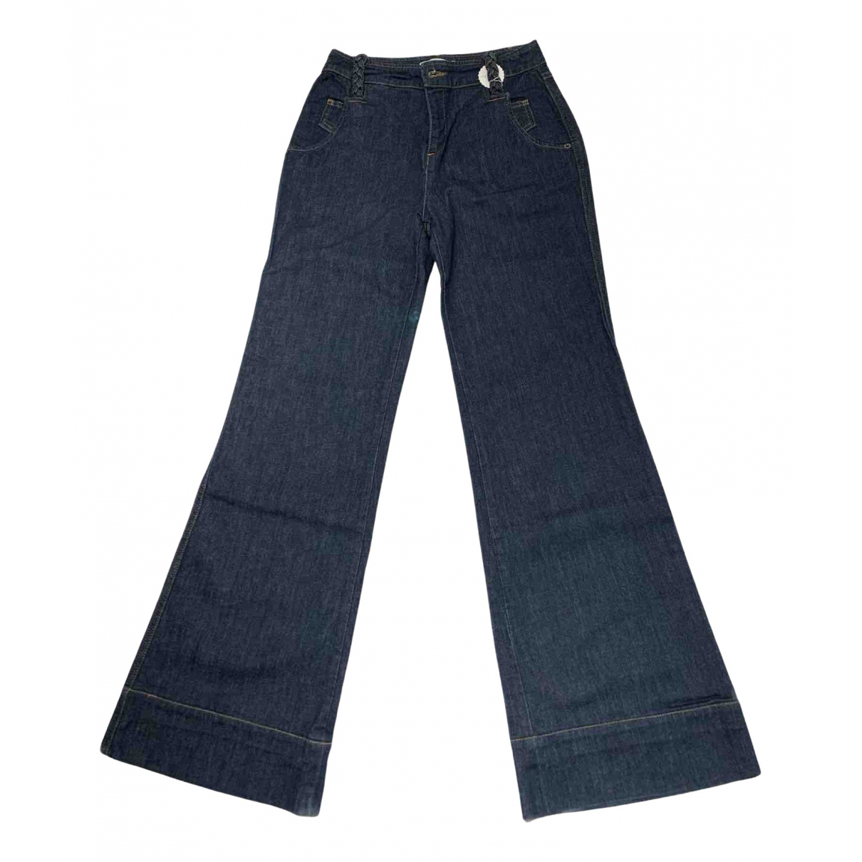 See By Chloé N Blue Cotton Jeans for Women 27 US