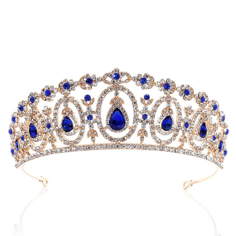 Tiara European Crown Hair Accessories