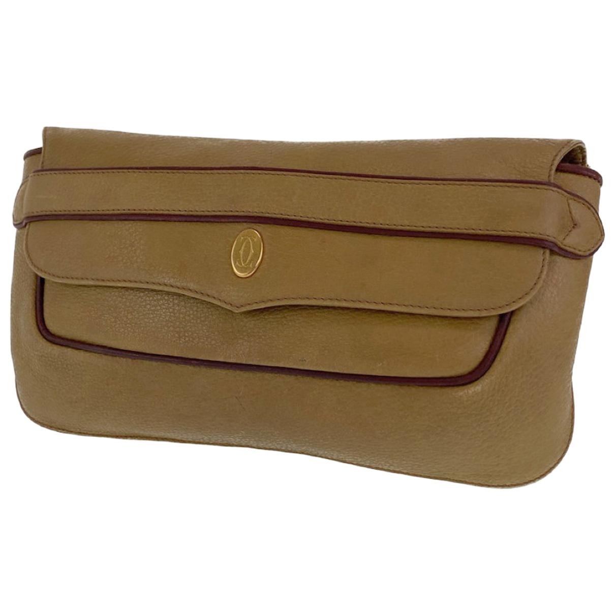 Cartier - Sac a main   pour femme en cuir
