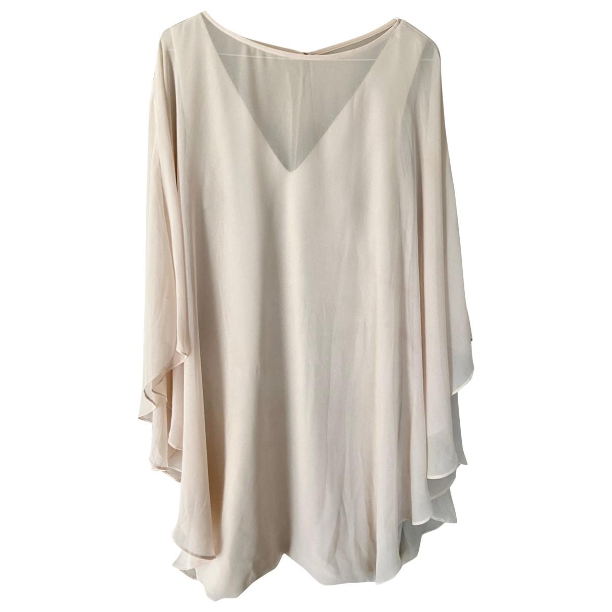 Halston Heritage - Robe   pour femme - beige
