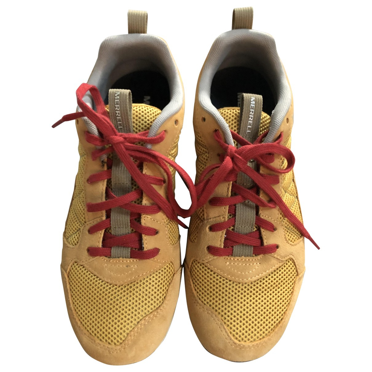 Adidas \N Yellow Suede Trainers for Men 40 EU