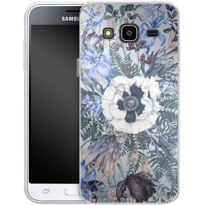 Samsung Galaxy J3 (2016) Silikon Handyhuelle - Frost von Stephanie Breeze