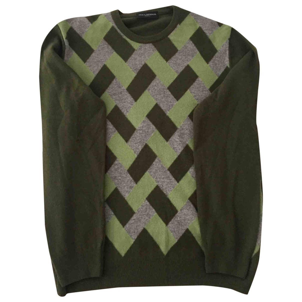 Ted Lapidus \N Pullover.Westen.Sweatshirts  in  Gruen Wolle