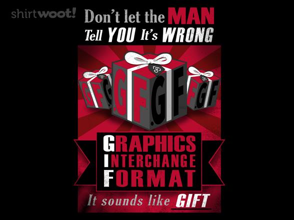 Gif T Shirt