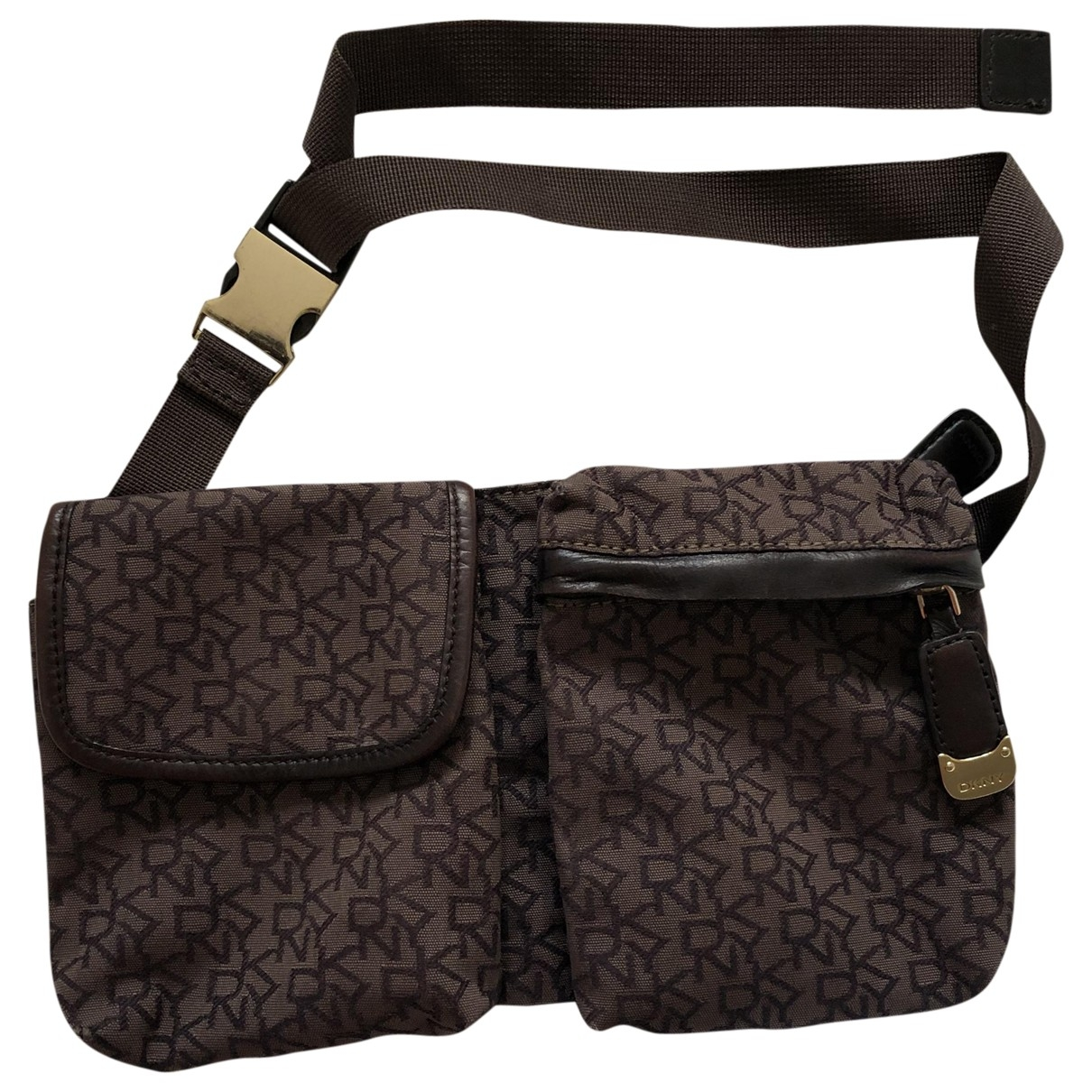 Dkny \N Brown Cotton handbag for Women \N