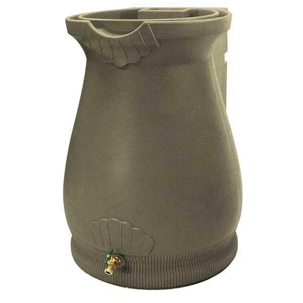 Good Ideas Rain Wizard Urn, 65 Gallon, Sandstone