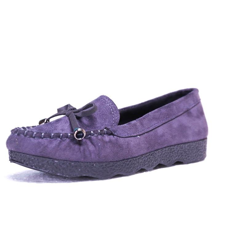 Ericdress Round Toe Slip-On Plain Women's Flats