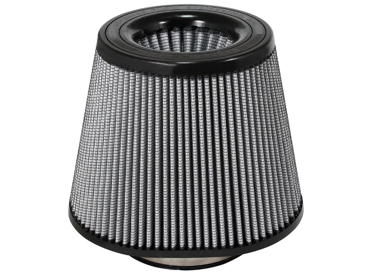 aFe Magnum FLOW Intake Replacement Air Filter w/ Pro DRY S Media 5-1/2 F x (7x10) B x 7 T (Inverted) x 8 H in