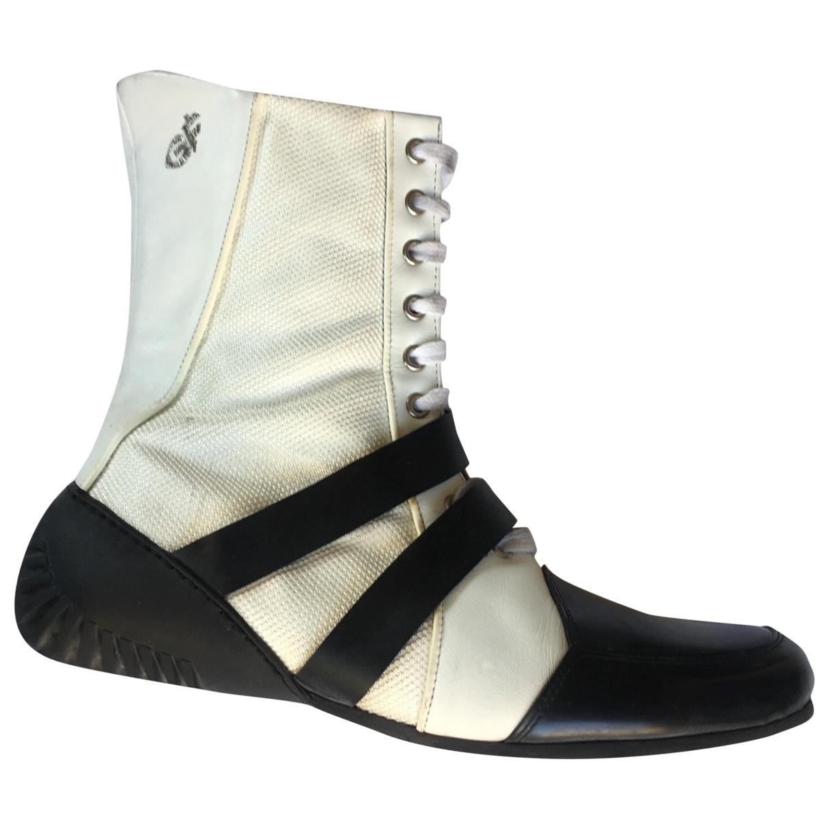 Gianfranco Ferré \N White Boots for Women 39 EU