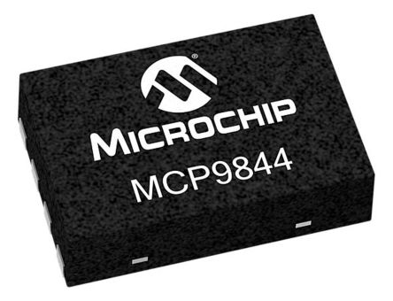 Microchip MCP9844T-BE/MNY, Digital Temperature Sensor -40 → +125 °C ±0.2°C Serial-2 Wire, Serial-I2C, 8-Pin TDFN (3300)