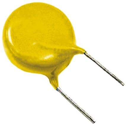 Vishay Single Layer Ceramic Capacitor SLCC 470pF 500V ac ±10% Y5U Dielectric VY1 Series Series Through Hole (10)