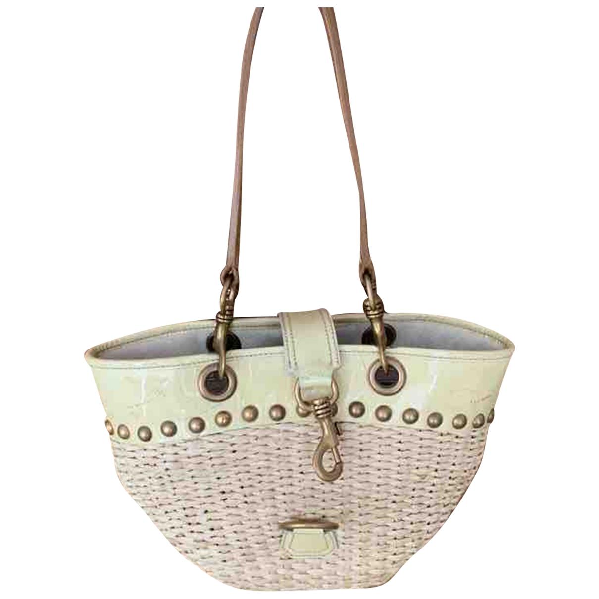 Miu Miu \N Beige Wicker handbag for Women \N