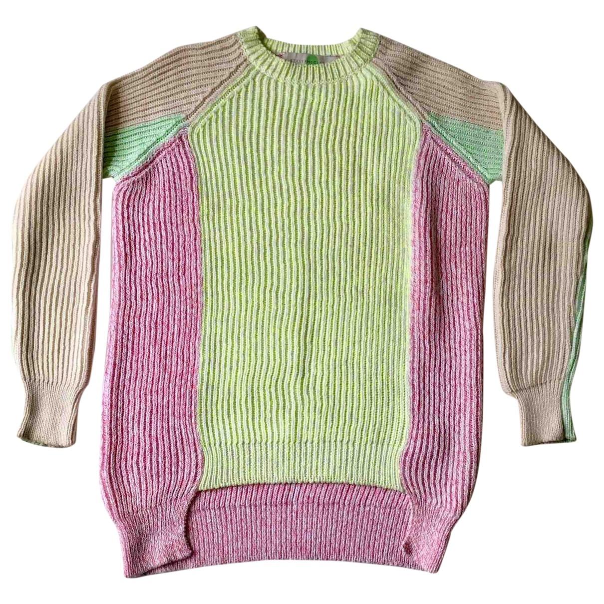 Stella Mccartney - Pull   pour femme en coton - multicolore