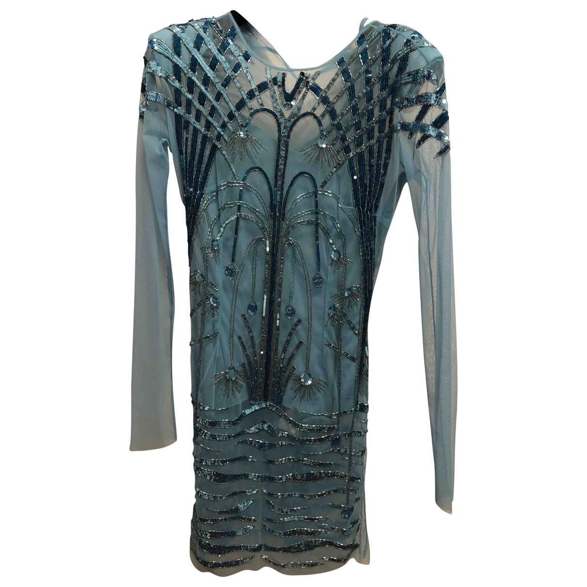 Elisabetta Franchi \N Blue Glitter dress for Women 40 IT