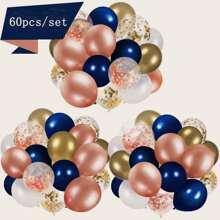60 piezas set globo de decoracion de fiesta