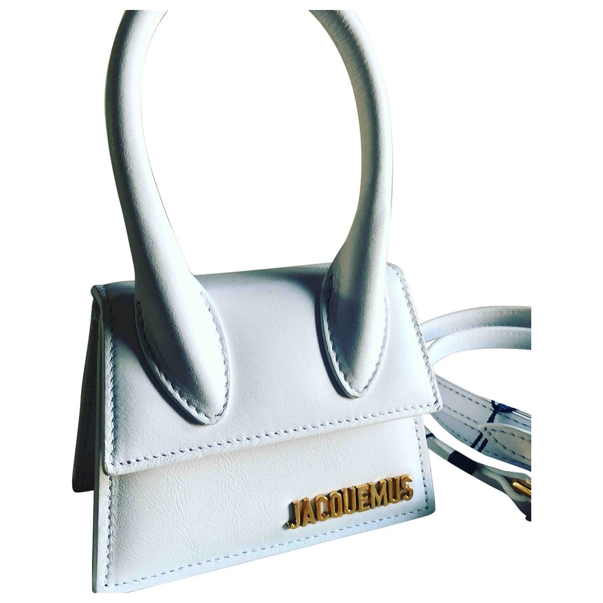 Jacquemus Chiquito White Leather handbag for Women \N