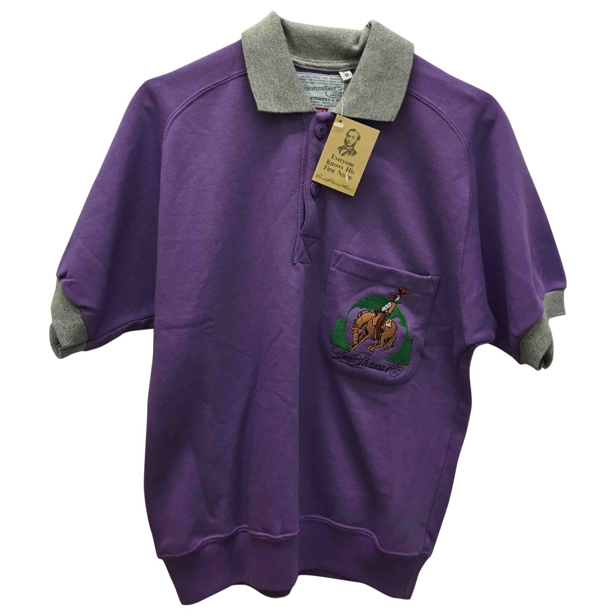Levi's \N Purple Cotton  top for Women S International