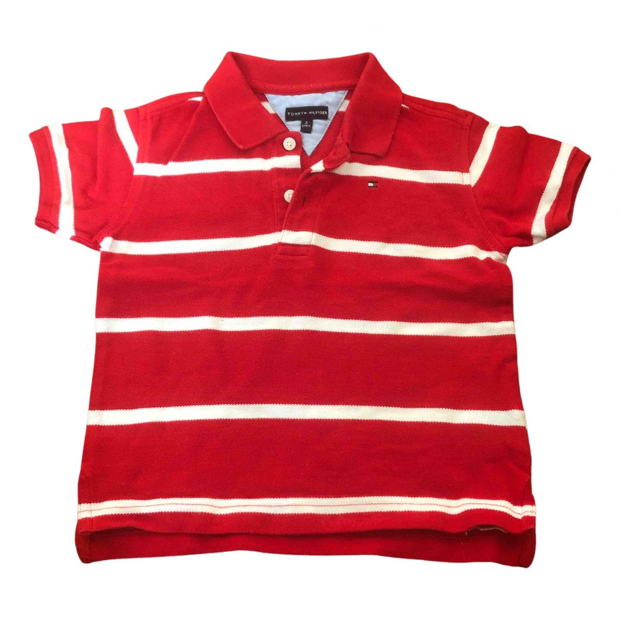 Tommy Hilfiger N Red Cotton  top for Kids 2 years - up to 86cm FR