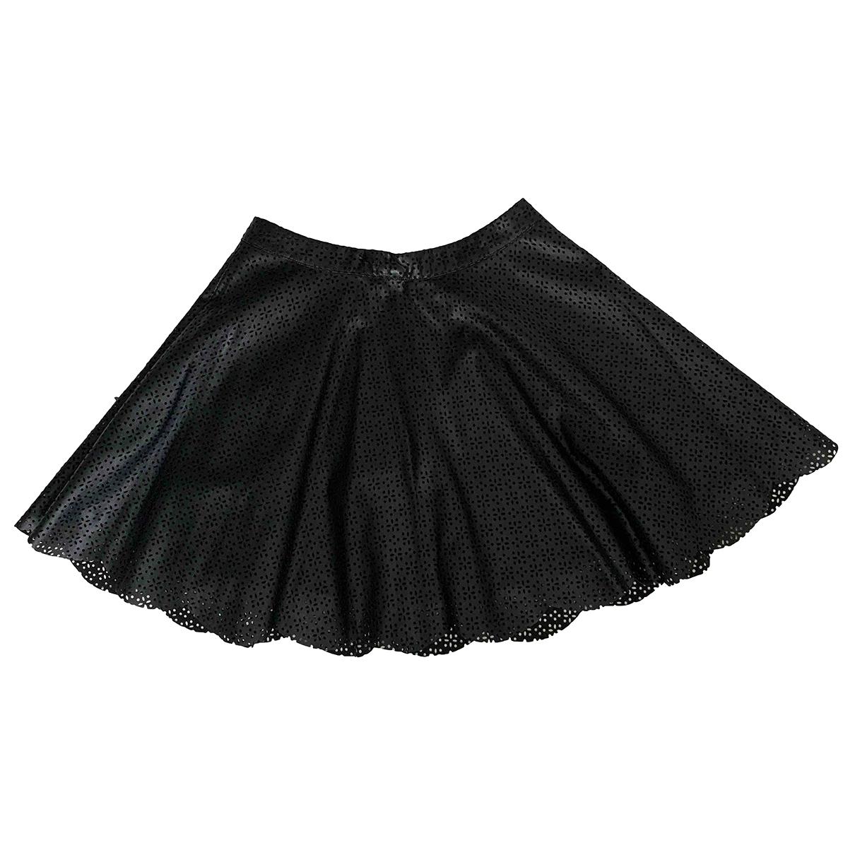 Mini falda de Cuero Vanessa Bruno Athe
