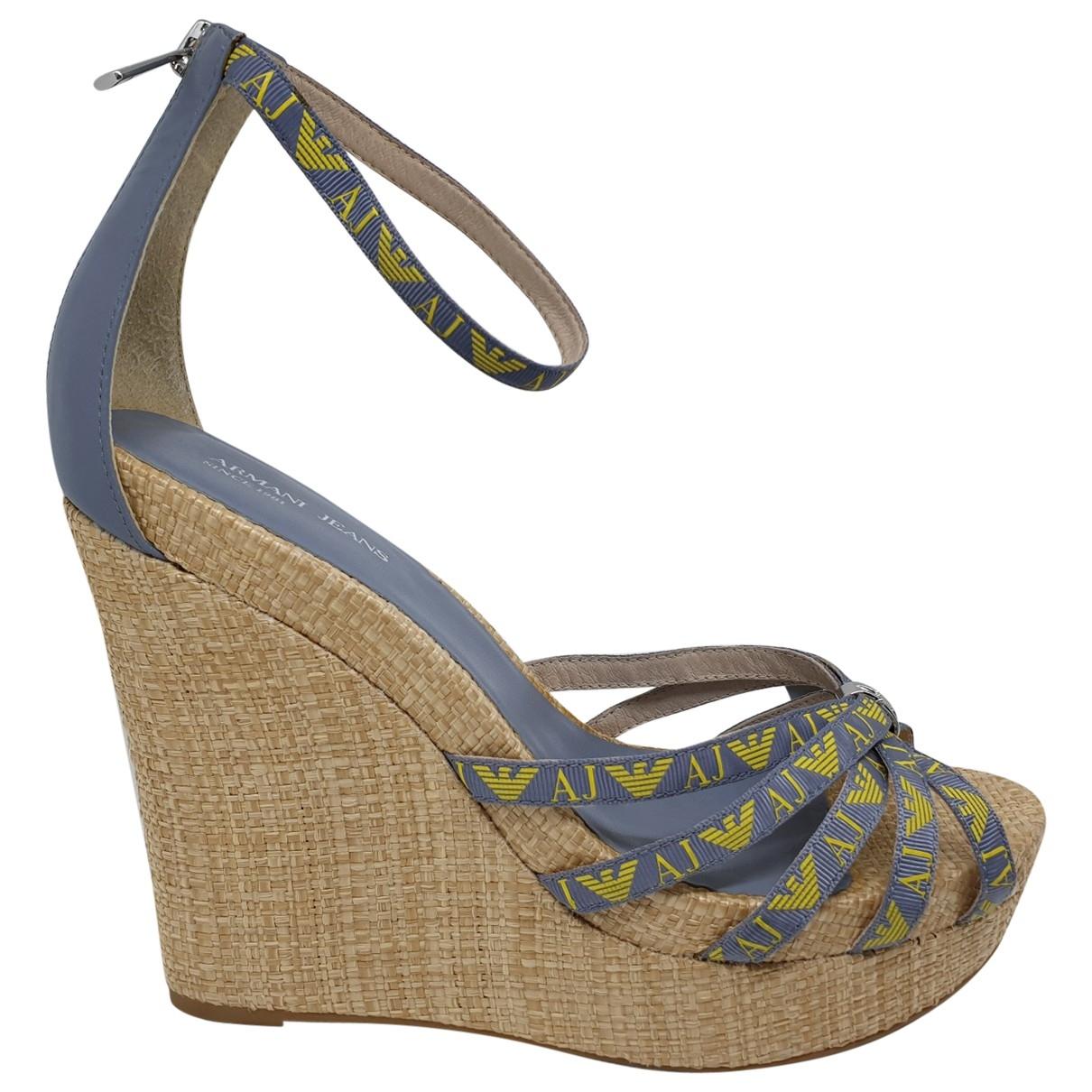 Sandalias de Lona Armani Jeans