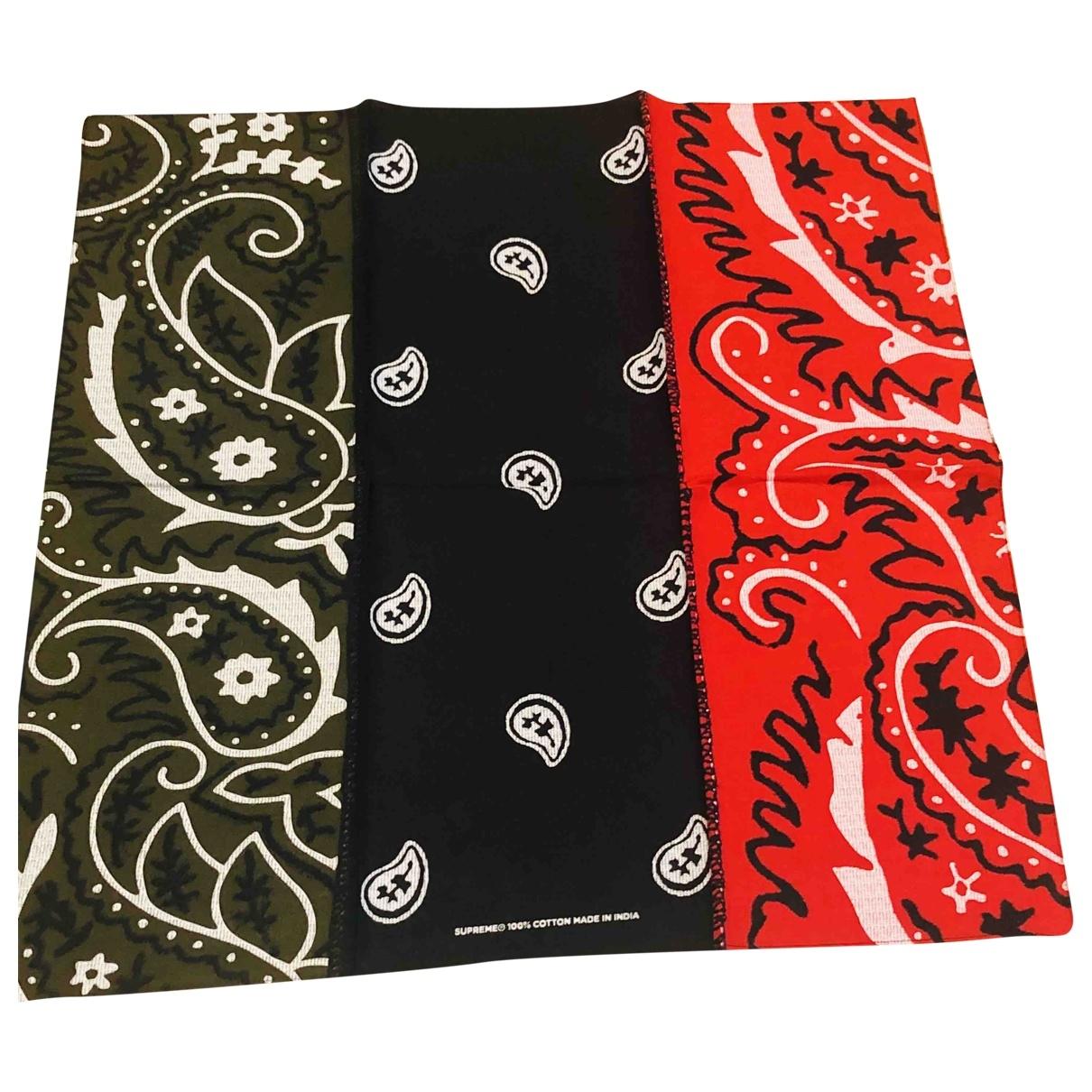 Supreme - Foulard   pour femme en coton - multicolore