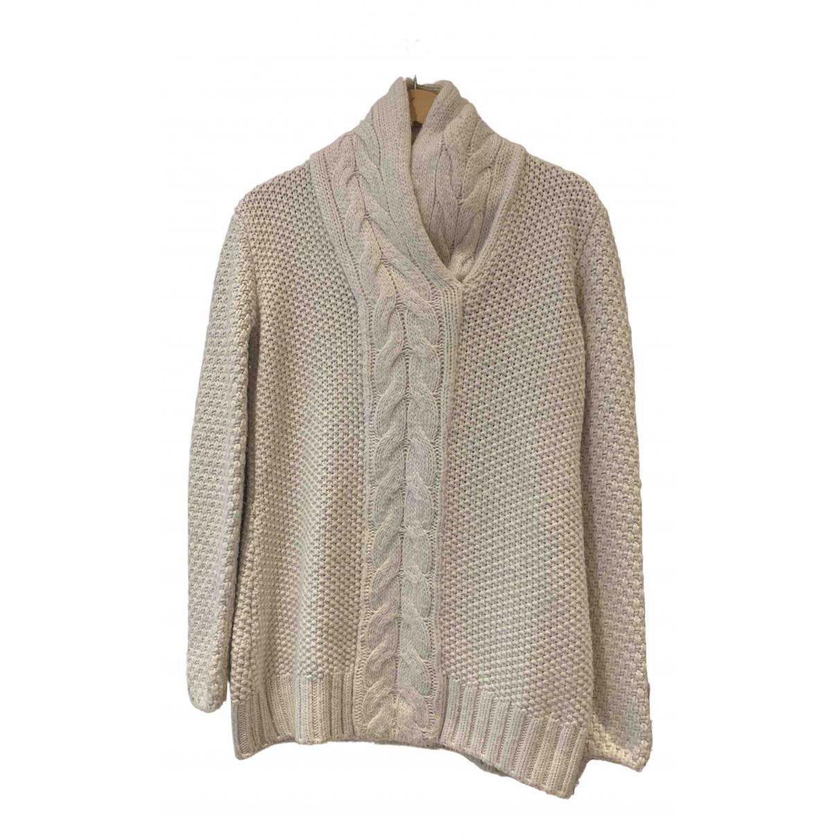 Balenciaga - Pull   pour femme en laine - blanc
