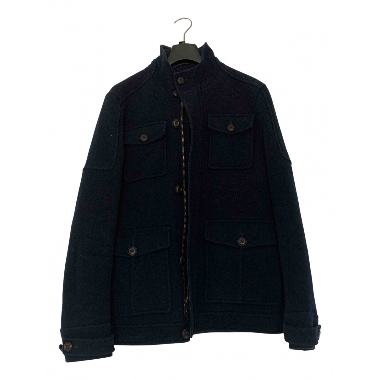 Timberland N Blue Wool coat  for Men S International