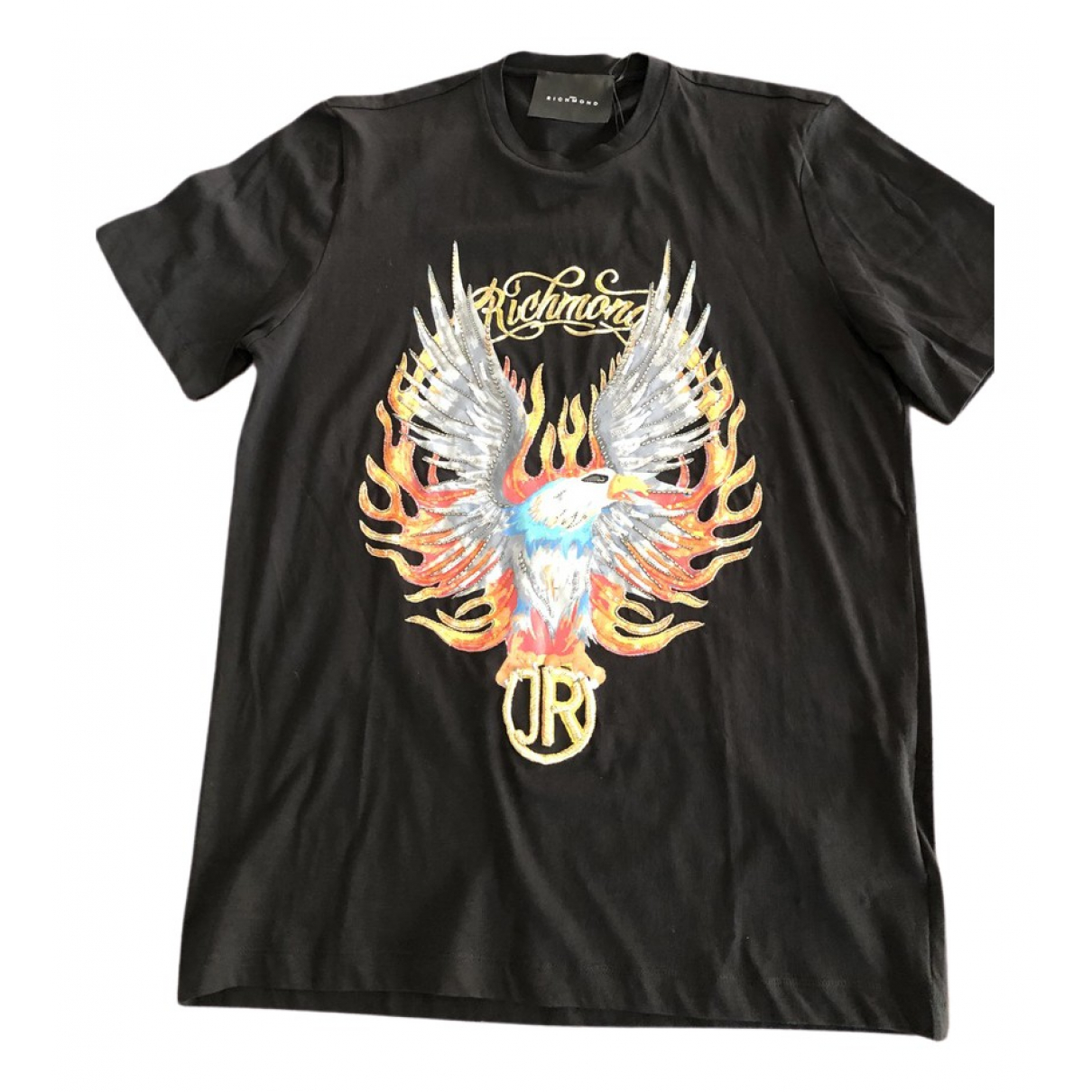 John Richmond \N T-Shirts in  Schwarz Baumwolle