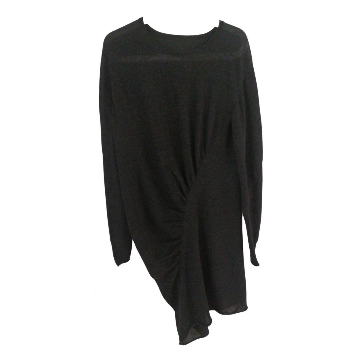 Uma Wang \N Kleid in  Grau Wolle