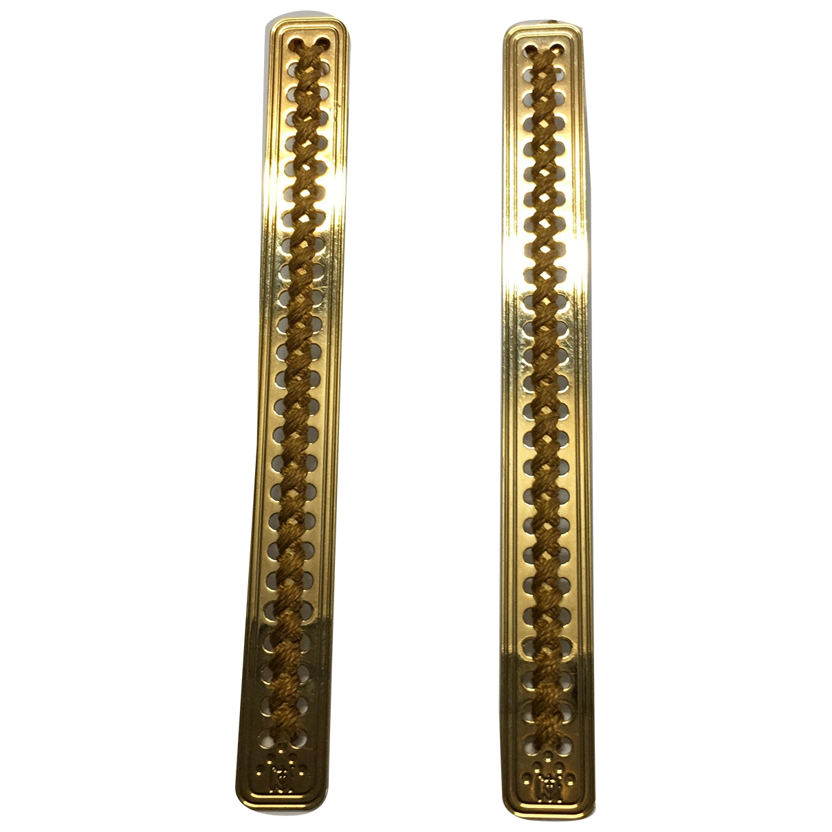 Camille Enrico \N Gold Gold plated Earrings for Women \N