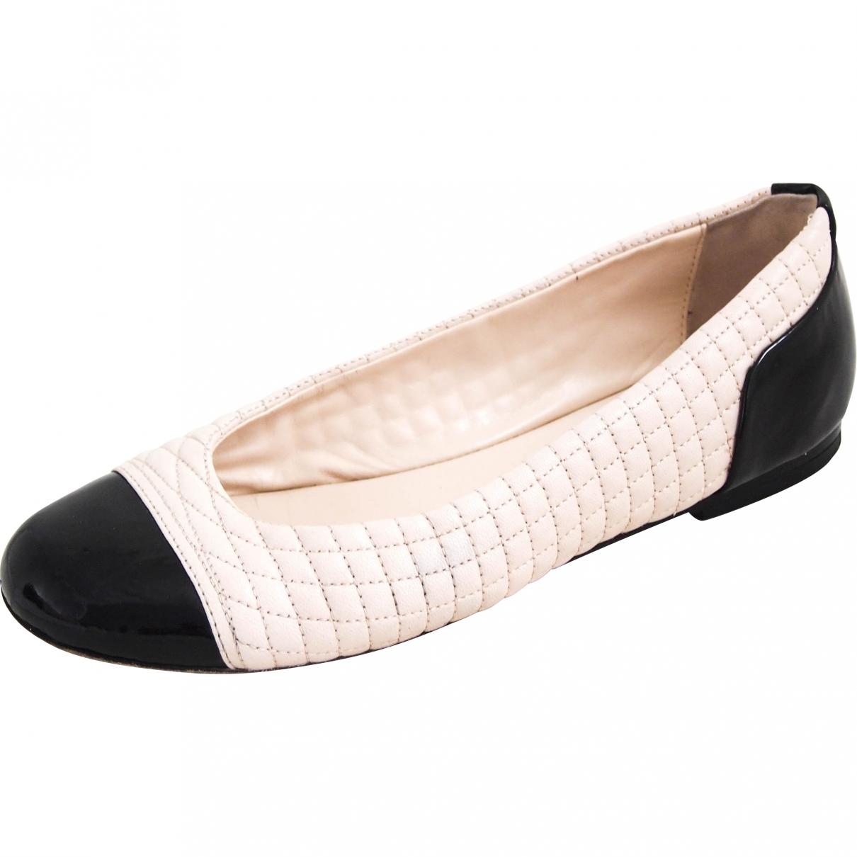 Bally \N Black Leather Ballet flats for Women 36.5 EU