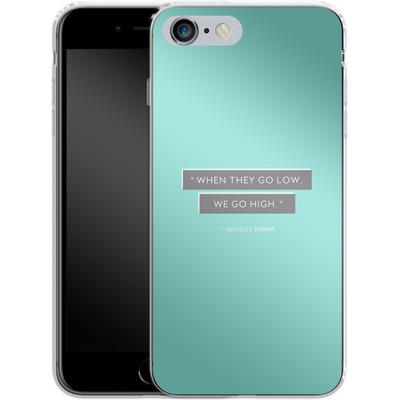 Apple iPhone 6 Plus Silikon Handyhuelle - Aim High von caseable Designs