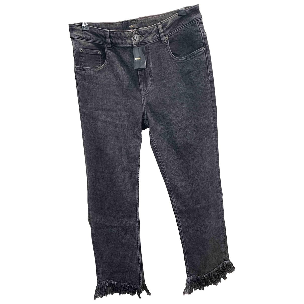Maje Spring Summer 2019 Grey Denim - Jeans Jeans for Women 42 FR