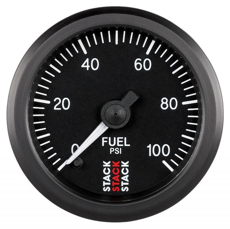AutoMeter Gauge FuelP ProStpr 52mm Blk 100psi