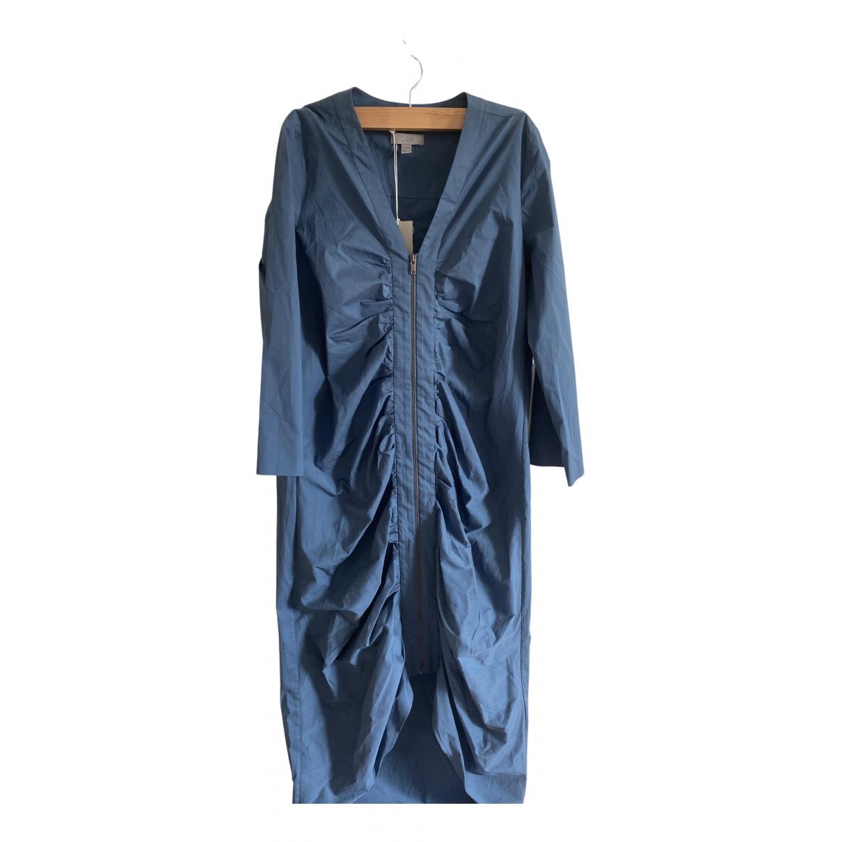 Cos \N Kleid in  Blau Baumwolle