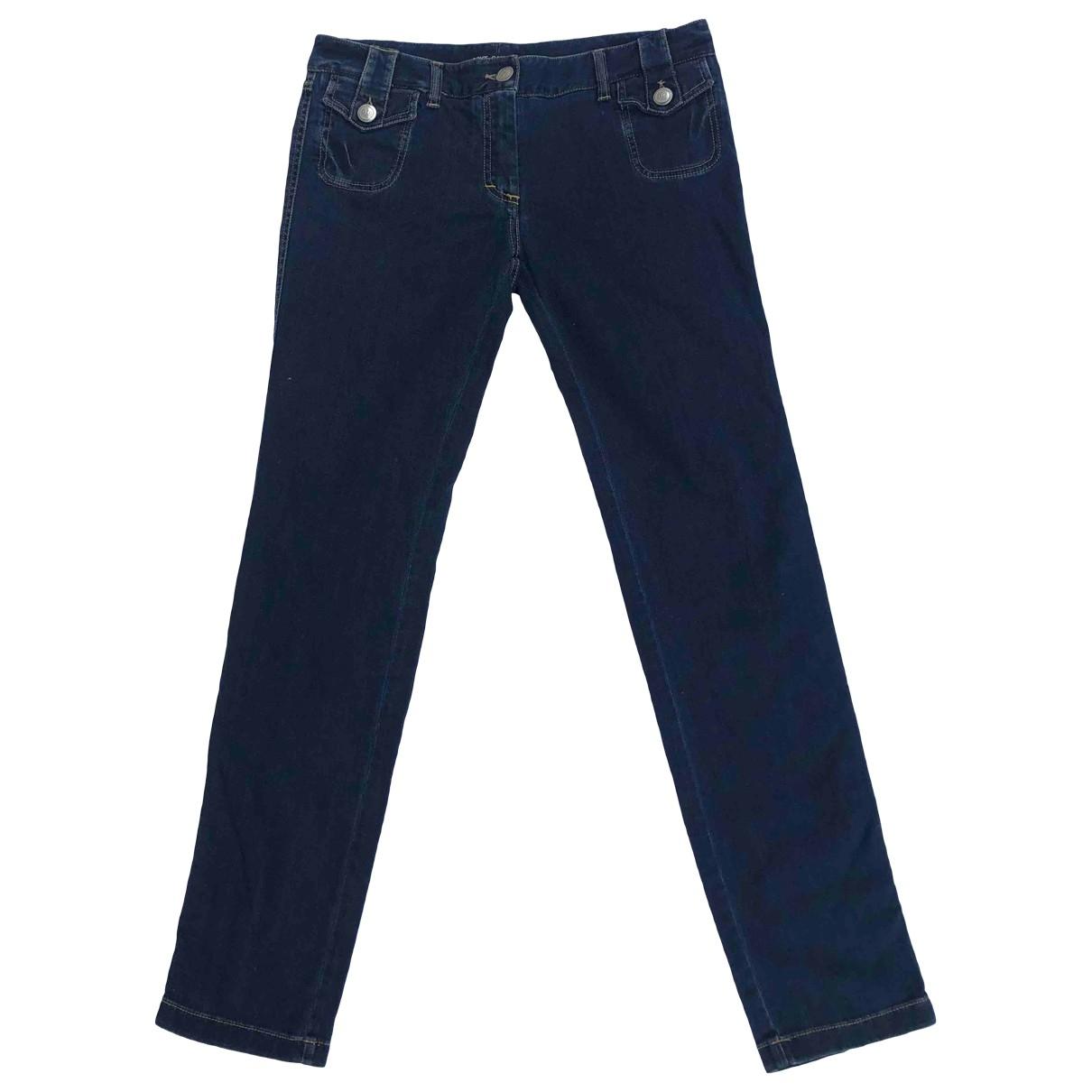 Dolce & Gabbana \N Blue Cotton - elasthane Jeans for Women 38 FR